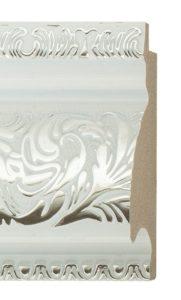 Багет для зеркала белый