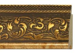 Золотой багет для зеркала
