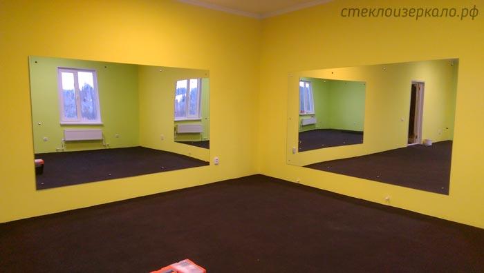 Большие зеркала в тренажерный зал
