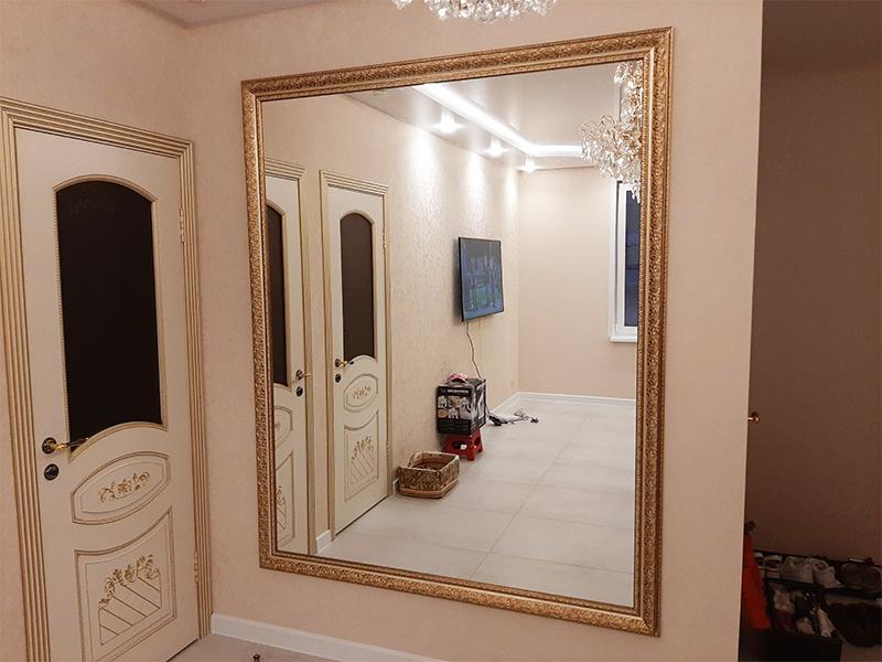 Каталог фото зеркал в багете