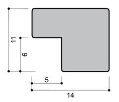 профиль металлической рамки