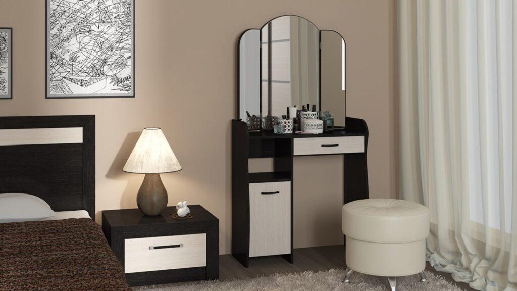 Зеркало для трельяжа в интерьере