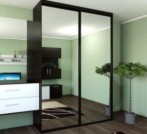 Шкаф купе с зеркалами
